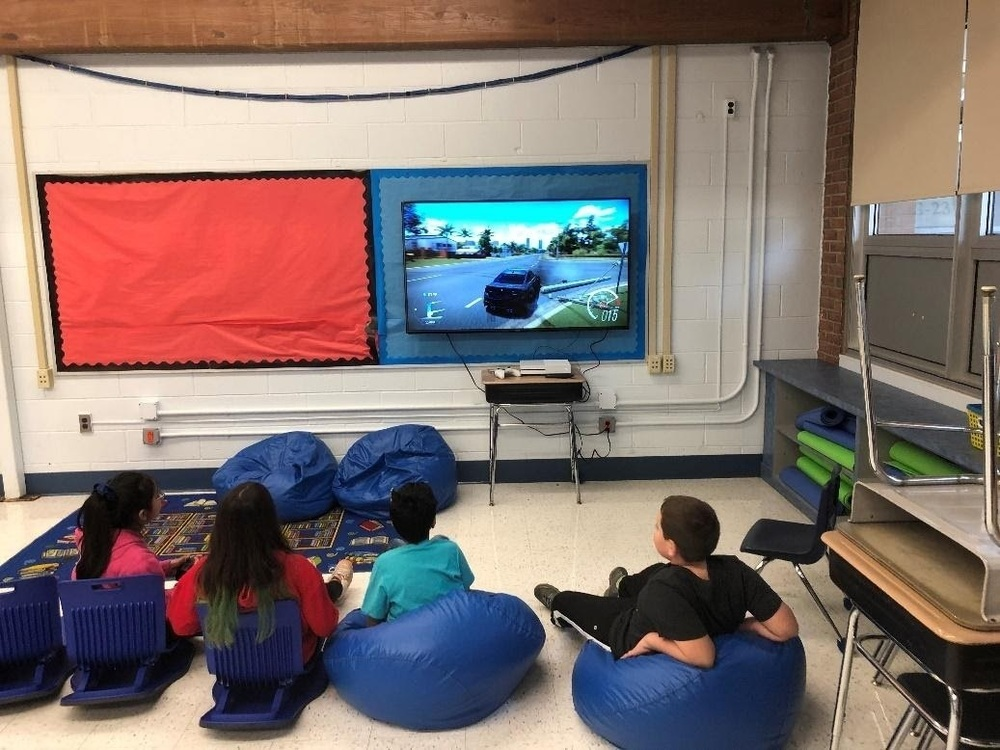 Positive Rewards Gaming Center at Woodmere School