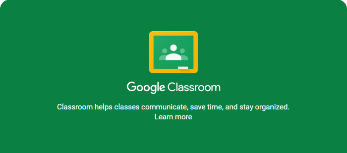 Instructions for Google Classroom