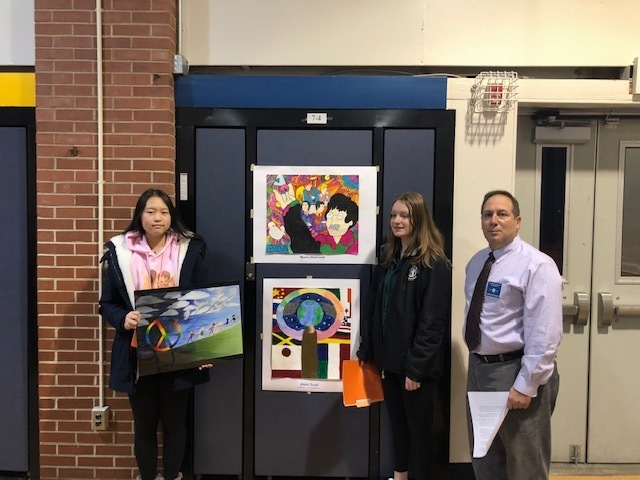 Eatontown Lions Club Peace Poster Contest Winners