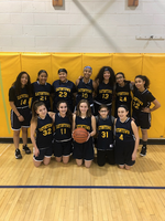 2019-2020 Memorial Lady Hawks Girls Basketball Team