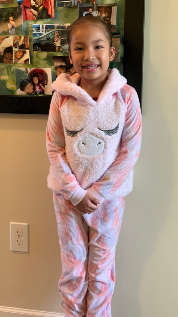 PJ Day for Zoey